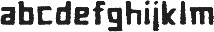 Cave Age Rough otf (400) Font LOWERCASE