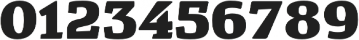 Cavole Slab Black otf (900) Font OTHER CHARS