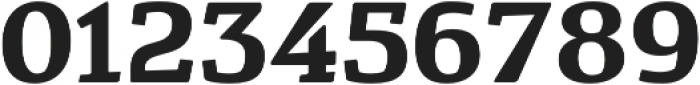 Cavole Slab Bold otf (700) Font OTHER CHARS