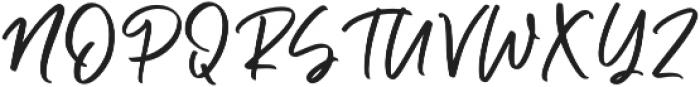 Caylee otf (400) Font UPPERCASE