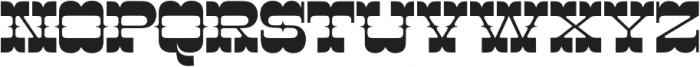 Cayuse otf (400) Font UPPERCASE