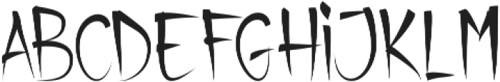 california otf (400) Font UPPERCASE