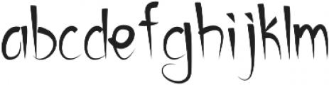 california otf (400) Font LOWERCASE