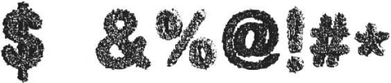 candyshop otf (400) Font OTHER CHARS