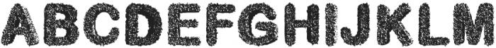 candyshop otf (400) Font LOWERCASE