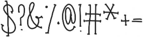 carrots ttf (400) Font OTHER CHARS