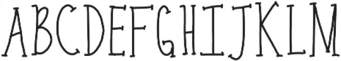 carrots ttf (400) Font UPPERCASE