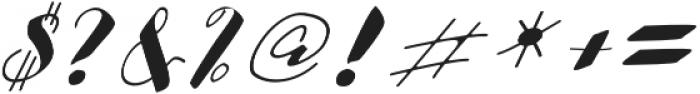 cataleya otf (400) Font OTHER CHARS