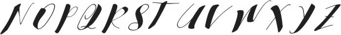 cataleya ttf (400) Font UPPERCASE