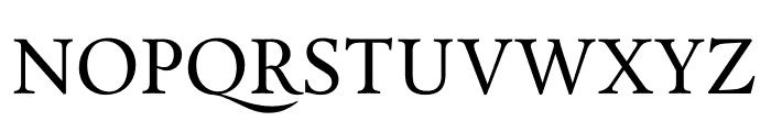 Calendas Plus Regular Font UPPERCASE