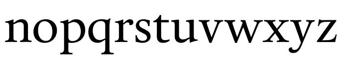 Calendas Plus Regular Font LOWERCASE