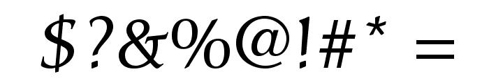CarolinaLTStd Font OTHER CHARS