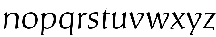 CarolinaLTStd Font LOWERCASE