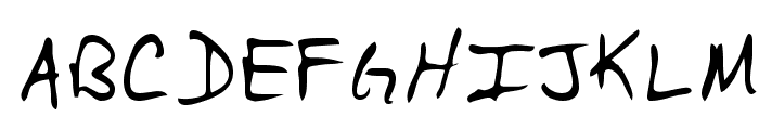 Casey Regular Font UPPERCASE
