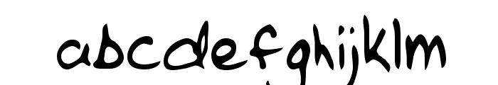 Casey Regular Font LOWERCASE