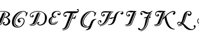 Caslon Calligraphic Initials Font LOWERCASE