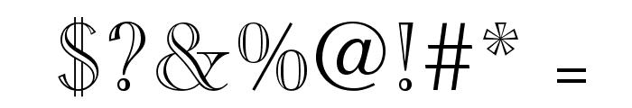 CaslonOpenFaceLTStd Font OTHER CHARS