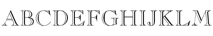 CaslonOpenFaceLTStd Font UPPERCASE