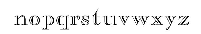 CaslonOpenFaceLTStd Font LOWERCASE