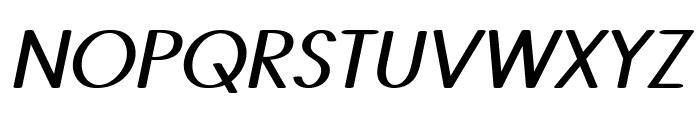Castor-BoldItalic Font UPPERCASE