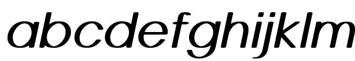 Castor-BoldItalic Font LOWERCASE