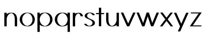 Castor Font LOWERCASE