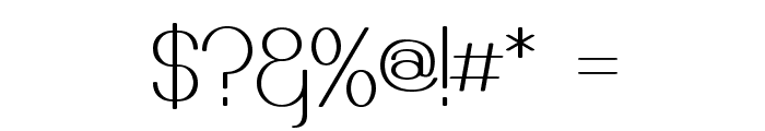 Castorgate Font OTHER CHARS