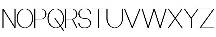 Castorgate Font UPPERCASE