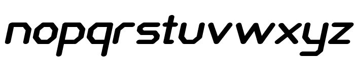 Castron-BoldItalic Font LOWERCASE