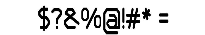Castron-CondensedRegular Font OTHER CHARS