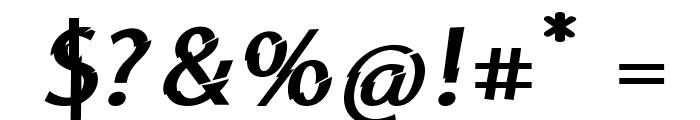 Category5Bold Font OTHER CHARS