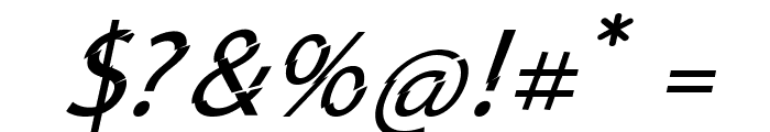 Category5Italic Font OTHER CHARS