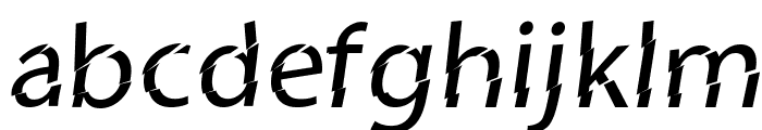 Category5 Font LOWERCASE