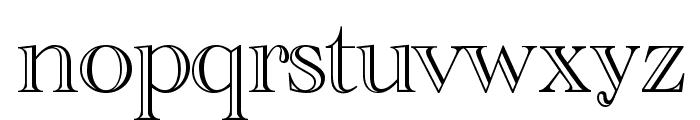 CathedralOpen-Regular Font LOWERCASE