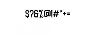 CaligorSansEdge.ttf Font OTHER CHARS