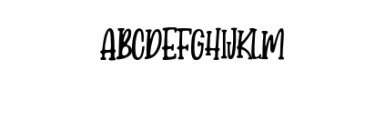 Candy Clause.otf Font UPPERCASE