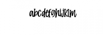 Candy Clause.otf Font LOWERCASE