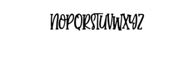 Candy Clause.ttf Font UPPERCASE