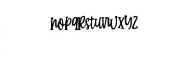 Candy Clause.ttf Font LOWERCASE
