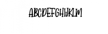 Candy-Clause.woff Font UPPERCASE