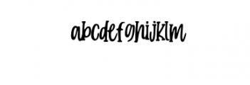 Candy-Clause.woff Font LOWERCASE