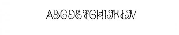 Capella Typeface Font UPPERCASE