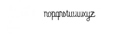 Capella Typeface Font LOWERCASE