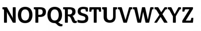 Cabrito Semi Condensed Bold Font UPPERCASE