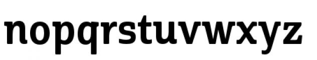 Cabrito Semi Condensed Bold Font LOWERCASE