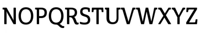 Cabrito Semi Condensed Demi Font UPPERCASE