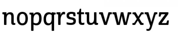 Cabrito Semi Condensed Demi Font LOWERCASE