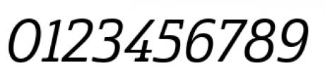 Cabrito Semi Condensed Medium Italic Font OTHER CHARS