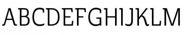 Cabrito Semi Condensed Regular Font UPPERCASE