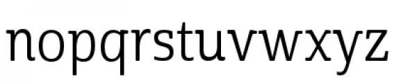 Cabrito Semi Condensed Regular Font LOWERCASE